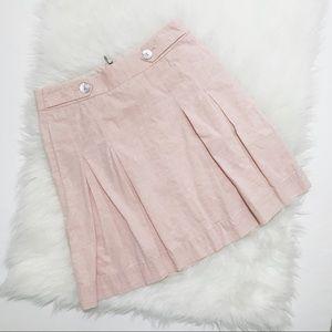 J. Crew Knee Length A-Line Skirt